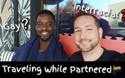 What It's Like Traveling While Gay (and Interracial)